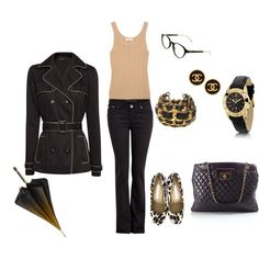 Tan & Black ~ for a rainy day!