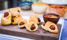 Home & Family - Recipes - Cristina Cooks: Blanketed Pigs | Hallmark Channel