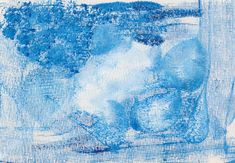 Just added one of my own prints to my Etsy shop Original Mixed media art ICE overpainted monoprint icy blue and white by IanBertramArtist Find it here http://ift.tt/2yAPkS3