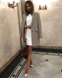 Mode I simply adore it when a classic look can be achieved with a few classy pieces What You Should Business Casual Outfits, Business Attire, Classy Outfits, Business Fashion, Cute Professional Outfits, Ootd Classy, Lawyer Fashion, Corporate Outfits, Corporate Wear
