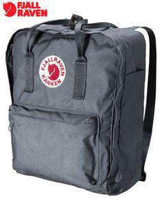 Fjallraven Kanken Backpack Bag - Graphite Grey