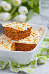 Carrot Orange Coconut Cake Recipe