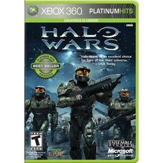 Halo Wars Platinum Hits For Xbox 360 Shooter Very Good 7E #shooter #very #good #xbox #hits #wars #platinum #halo