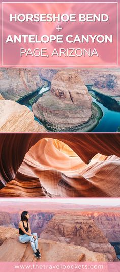 Exploring Horseshoe Bend and Lower Antelope Canyon in Arizon.- Exploring Horseshoe Bend and Lower Antelope Canyon in Arizona – Travel Pockets Exploring Horseshoe Bend and Antelope Canyon in Page, Arizona, USA - Arizona Road Trip, Arizona Travel, Travel Oklahoma, Florida Travel, Page Arizona, Arizona Usa, Death Valley, Oh The Places You'll Go, Places To Travel