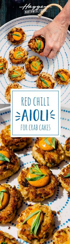 The perfect pairing for crab cakes.