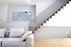 Material space prins interieur minimalistisch
