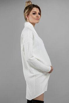 Sukienka ciążowa Taylor ecru Sukienki ciążowe