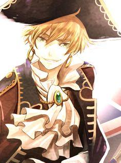 Thank you Hetalia for giving me a thing for pirates Boys Anime, Hot Anime Guys, Manga Boy, I Love Anime, Awesome Anime, Manga Anime, Rin Okumura, Hetalia Characters, Anime Characters