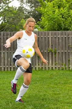 The Ultimate Soccer Mom Christie Rampone on the importance of workouts -- and rest!
