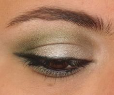 """Bad brow!  Not cleaned up but that doesn't mean to thin this out - simply taking a few hairs from the brow bone to highlight that area (no scooping or sculpting holes) would change this brow from a """"no"""" to an oh """"yes""""!  Would not shorten either end of this brow - just clean up at the brow bone. Easy!"""