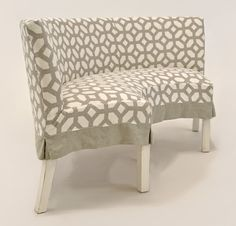 Quatrine Half Circle Dining Bench With Ruffle Skirt | Dining Banquettes And  Benches | Pinterest | Ruffle, Products And Withu003cbr/u003e