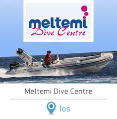 Meltemi Dive Center in Ios island. #dreamingreece #scubadiving #greece #ios #iosisland #greekislands #cyclades #dive #wateractivities #watersports #holidays #vacations