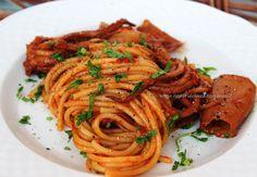 i sapori del mediterraneo: Spaghetti al sugo di totani