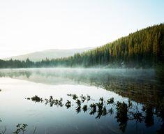Bear Lake - Pentax 67 + Portra 400