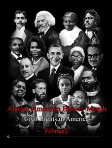 African American History Month Civil Rights in America (GSA)