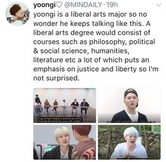 I need to accept the fact that all the members of bts are actual geniuses and are really educated and this is why they make my head hurt with all their stories and symbolism that go along with their music........ I'm not crying