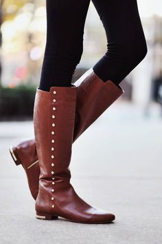 Michael Kors Riding Boots                                                       …