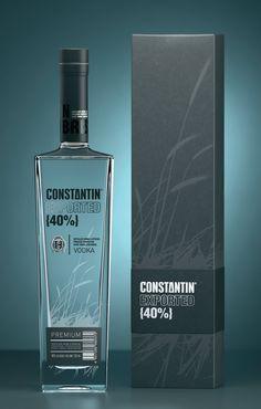 CONSTANTIN VODKA | STUDION. Simple but I like it PD