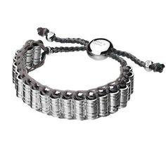 LINKS OF LONDON ~  Silver Venture Woven Bracelet