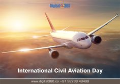 Today is the #InternationalCivilAviationDay.The purpose of the day is to help generate & reinforce worldwide awareness of the importance of #CivilAviation of the social & economic development of the states. #CivilAviationDay