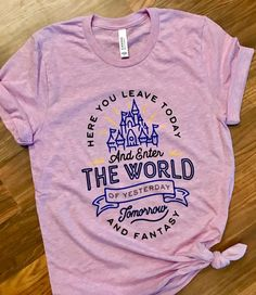 Magic Kingdom inspired T-shirt / Disney inspired shirt - Inspirational T Shirts - Ideas of Inspirational T Shirts -