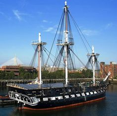 USS Constitution is launched - On This Day in History - October 21, 1797