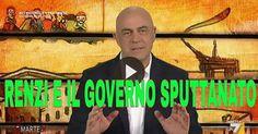 il popolo del blog,: COPERTINA DI CROZZA: SPUTTANATO RENZI E IL GOVERNO...