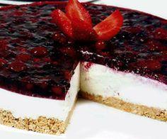 Aprenda a fazer Cheesecake de Frutos Vermelhos de maneira fácil e económica. As melhores receitas estão aqui, entre e aprenda a cozinhar como um verdadeiro chef.