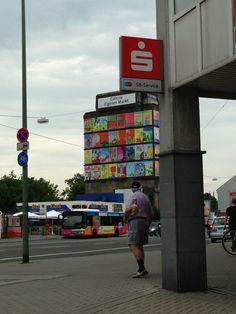 Eigen Markt Busstelle in Bottrop, Nordrhein-Westfalen