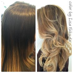 Balayage Blonde Soft  Ombre Highlights on AsianHair by LisaFukuda&CocoAlexander Haircut&Style by AmyHatsushi @JosephCozzaSalon 77 Maiden Lane sf ca 14154333030 @haircolorbylisa
