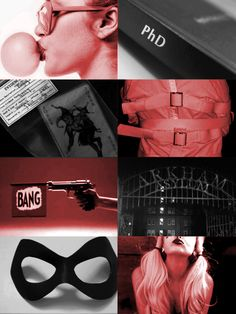 A montage of the lovely Ms. Harley Quinn.