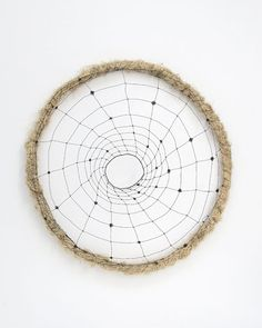 Mari Andrews    Vortex, 2008, wire, tree moss, 24 x 20 x 5""