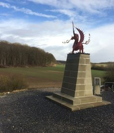 38th (Welsh) Division Memorial at Mametz Wood situated at the north end of…