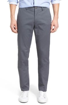 Slim Fit Washed Stretch Cotton Chinos | Bonobos