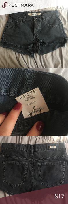 Brandy Melville Grey Cutoff Shorts Dark grey cut off shorts from Brandy Melville • Size 25 / 1 • Extra soft jean material • IN BASICALLY NEW CONDITION • Make me an offer! Brandy Melville Shorts Jean Shorts