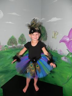 Pretty as a Peacock Halloween Costume Peacock by monkeybusiness10, $58.00