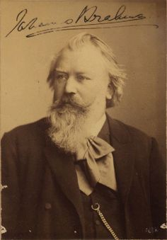 Johannes Brahms ( 1833- 1897 ) On 30 September 1853, the 20-year-old composer Johannes Brahms knocked unannounced on the door of the Schumanns carrying a letter of introduction from violinist Joseph Joachim. Brahms amazed Clara and Robert with his music, stayed with them for several weeks, and became a close family friend. (He later worked closely with Clara to popularize Schumann's compositions during her long widowhood.) http://en.wikipedia.org/wiki/Brahms