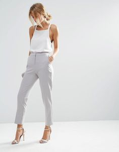 ASOS | ASOS Premium Clean Tailored Trousers at ASOS