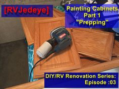 Diy Rv, First Day Of Spring, Painting Cabinets, New Beginnings, Home Appliances, Hot, Happy, House Appliances, Appliances