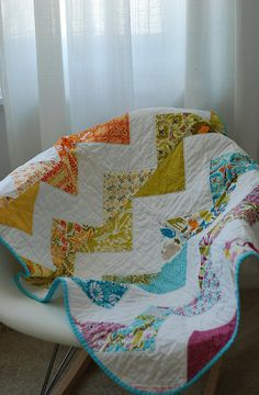 The pattern my friend used to make her son a quilt :)