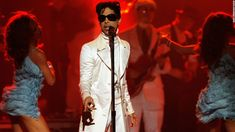 Prince performs onstage during the 2007 NCLR ALMA Awards.