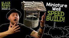 Miniature Well For D&D Tutorial (Black Magic Craft Episode 061)