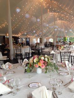 Romantic, garden inspired florals by #fiveforkfarms. #wedding #centerpieces #reception #flowers