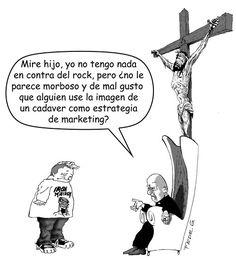 La Iglesia y sus macabros fetichismos…