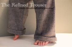 The Refined Trouser PDF Pattern Sizes by ninabonitadesigns on Etsy, $8.00