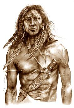 les amerindiens | 25-Differents styles artistiques serie L (162)