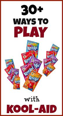 Creative play and crafting with kool-aid.  From Growing a Jeweled Rose.