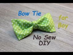 DIY - How to make a Infant/Toddler Neck Tie - YouTube
