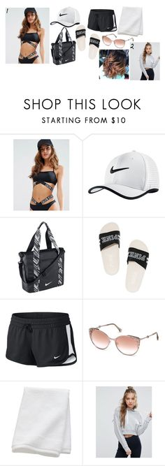 """Maya Granger- Pool Party At Ella's House (6th Year)"" by the-fault-in-our-paper-towns ❤ liked on Polyvore featuring Calvin Klein, NIKE, Victoria's Secret, Roberto Cavalli, CB2 and ASOS"