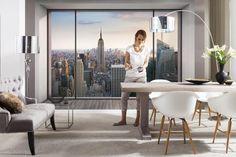 Fotobehang Penthouse